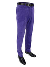 Purple Cotton Corduroy Trousers