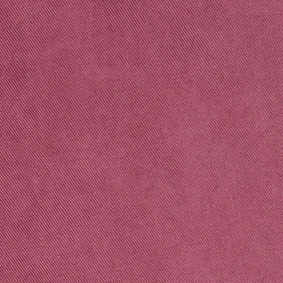Plain Mulberry Red Brushed Cotton Jeans