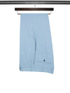 Plain Light Blue Linen Trousers