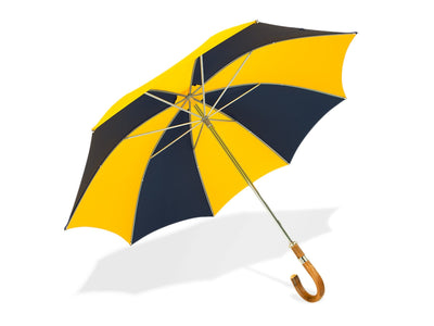 Yellow & Navy Golf Umbrella
