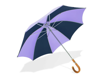 Lilac & Navy Golf Umbrella