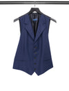 Navy Waistcoat with Black Lining