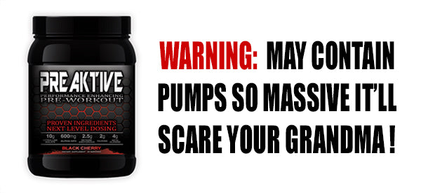 PreAktive - Best Pre Workout for Pump and Energy Meme