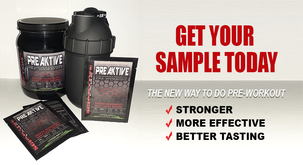 Pre Workout Samples