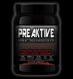 PreAktive- The Best Pre Workout Supplement Mix for Pump and Energy