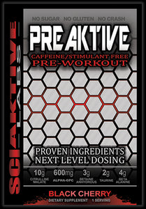 PREAKTIVE CAFFEINE FREE SINGLE SERVING PACKETS