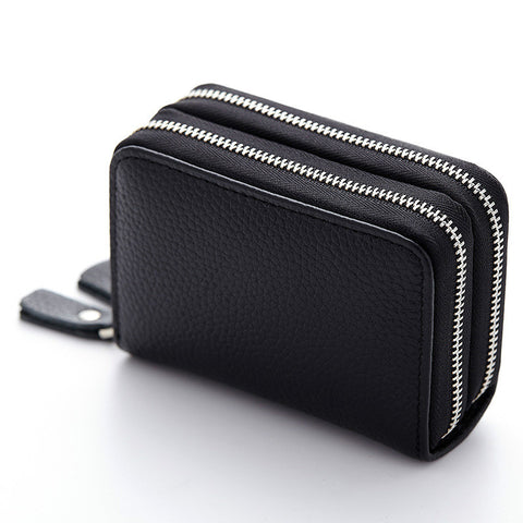 The DOUBLE leather wallet