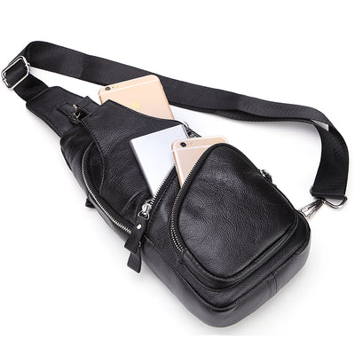 The LEO leather one shoulder bag