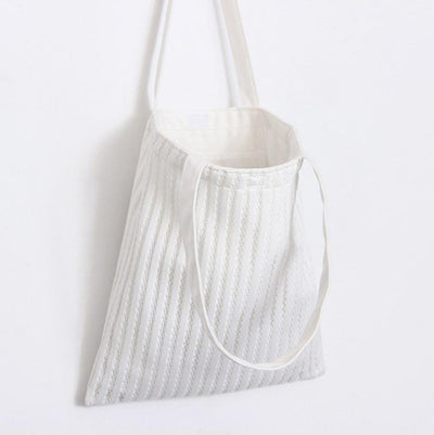 The MESH ribbed tote