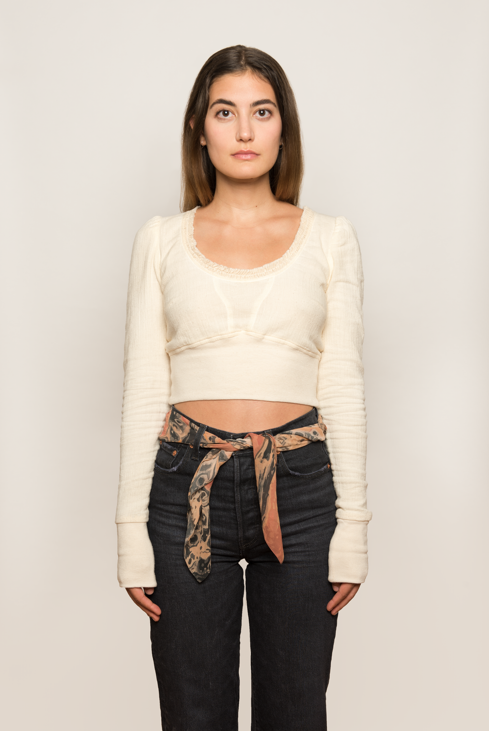 Cotton Gauze Top