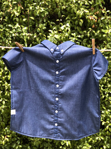 Denim Shirt Bib