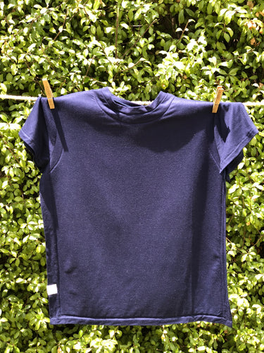 T-Shirt Bib - Navy Small