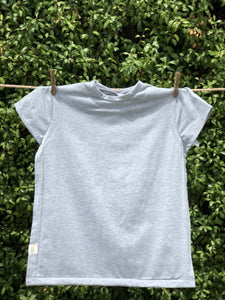 T-Shirt Bib - Grey small