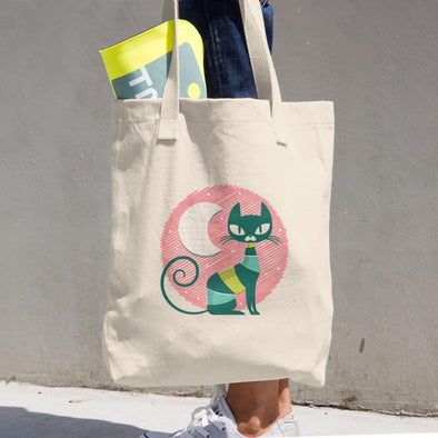 Cat Cotton Tote Bag - Chipmunks Hub