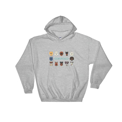 Dog Collection Hoody - Chipmunks Hub