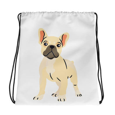 French Bulldog Puppy Drawstring bag - Chipmunks Hub
