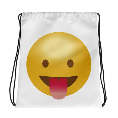 Laugh Emoji Drawstring bag - Chipmunks Hub