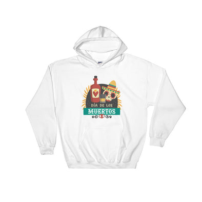 Skull Tequila Hooded Sweatshirt - Chipmunks Hub