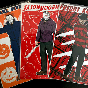 "Icons of Horror 11"" x 17"" Print Set"
