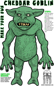 "Make Your Own Cheddar Goblin 11"" x 17"" Print"