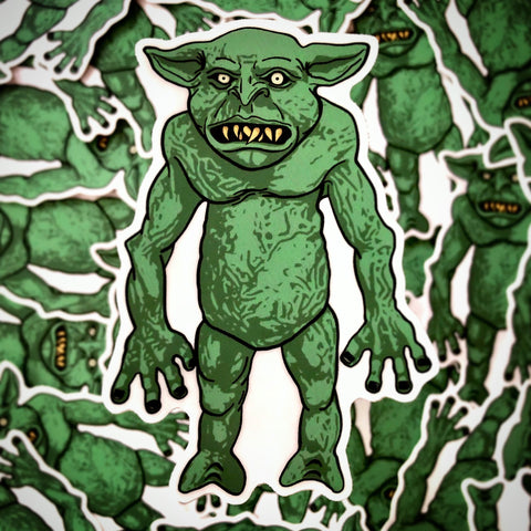 Cheddar Goblin Sticker