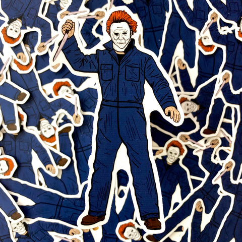 Michael Myers Sticker