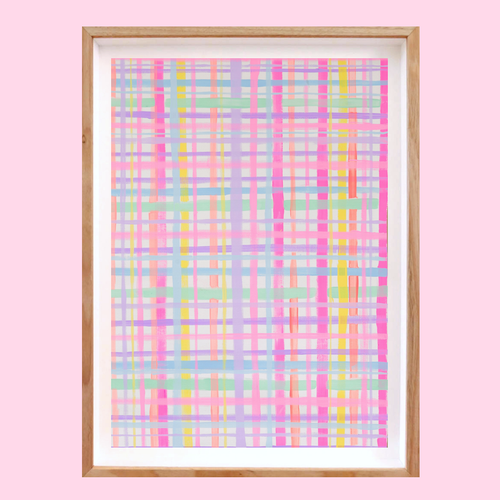 COTTON CANDY- Art Print