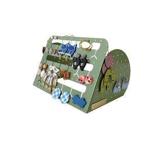Bon Maxie- Sage/ Standing Bunny Nose Earring Holder- 2 Sizes