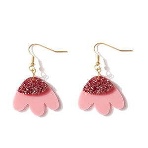 Emeldo Elle Earrings | Pink