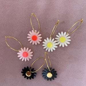 Emeldo Daisy Earrings/ Select your colour