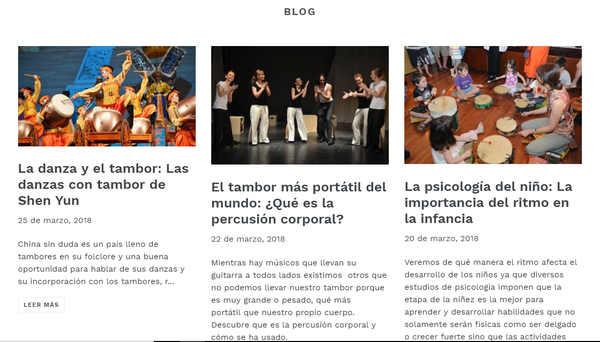 blogs de tamboreria.com