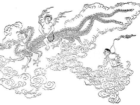 chinese water dragon god
