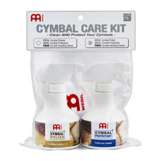 Meinl Cymbal Care Kit, Includes Polish and Protectant