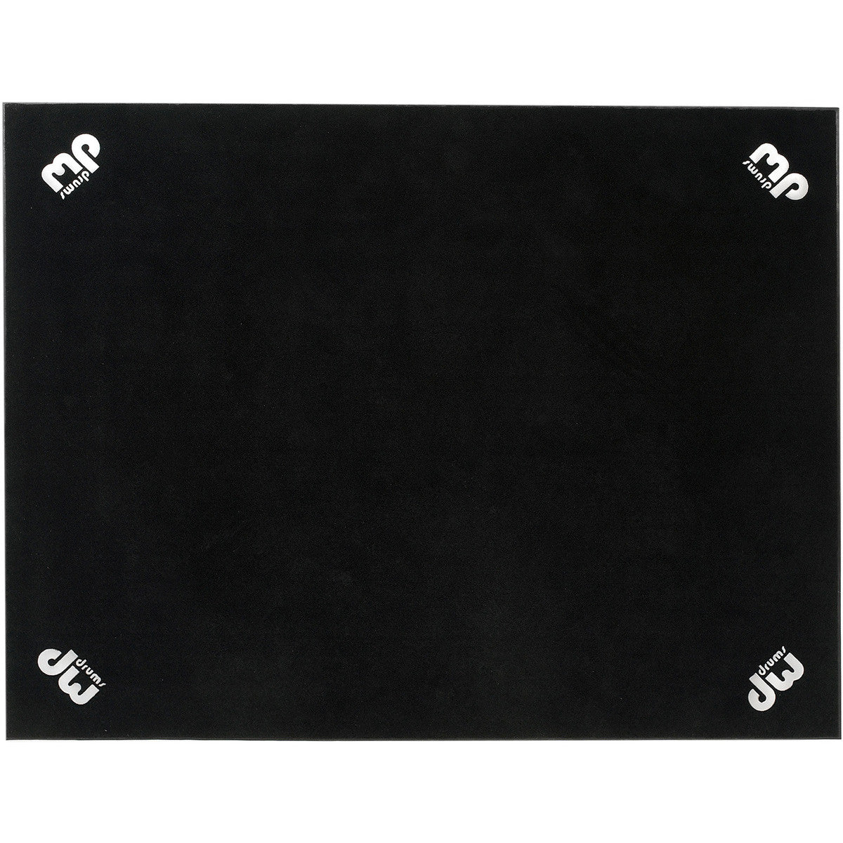 DW 5' x 7' Large DW Drum Rug, Black