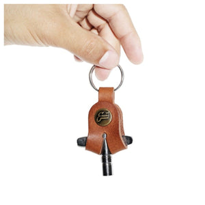Evans '56 Leather Drum Key Holder with Key