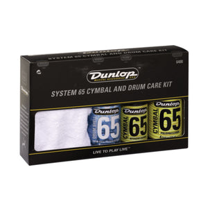 Dunlop System 65 Cymbal & Drum Care Kit