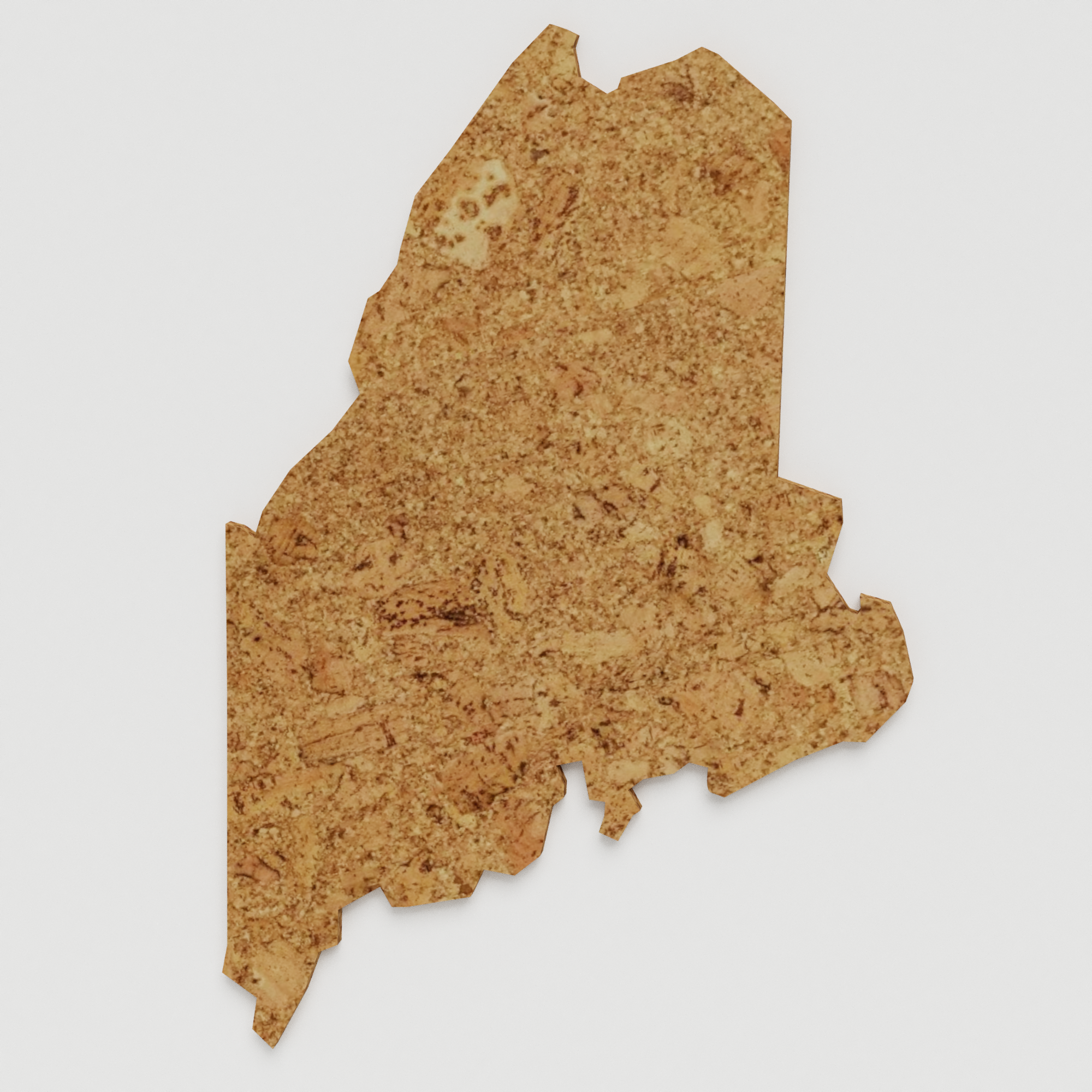 Cork Map of Maine,  - GEO 101 DESIGN
