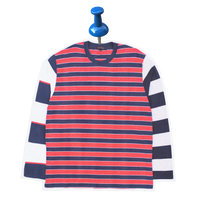 MISMATCH STRIPED L/S