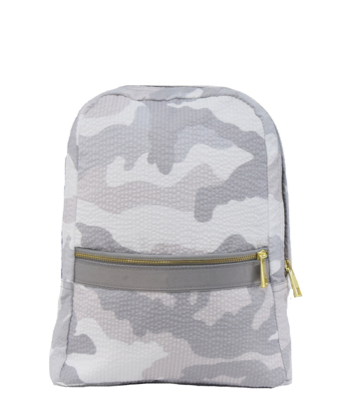 Camo Seersucker Toddler Backpack