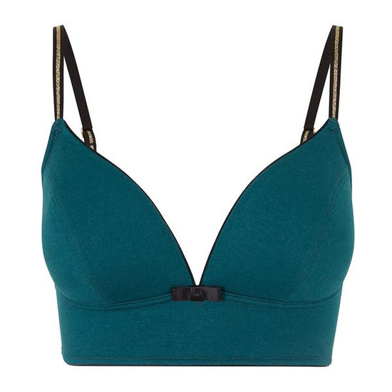 Marly Non Padded Bra (Petrol)
