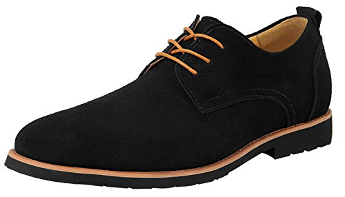 Mens Classic Suede Leather Oxford Shoes