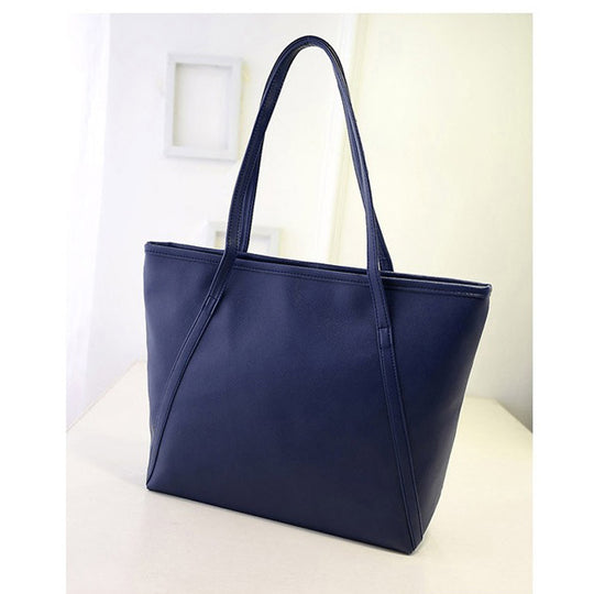 Big Bags All-match PU Leather Women's Handbag