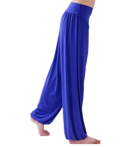 Free size women yoga pants Colorful Harem Model