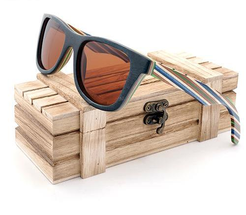 Natural Wooden Sunglasses Men and women