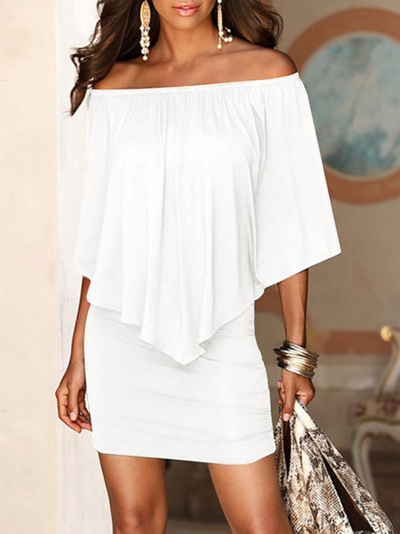 Off Shoulder Sexy Dresses