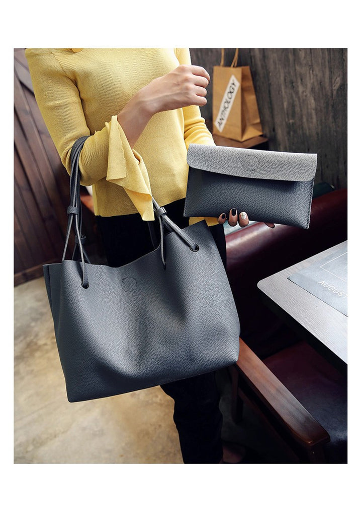 simple large capacity fresh women shoulder bags
