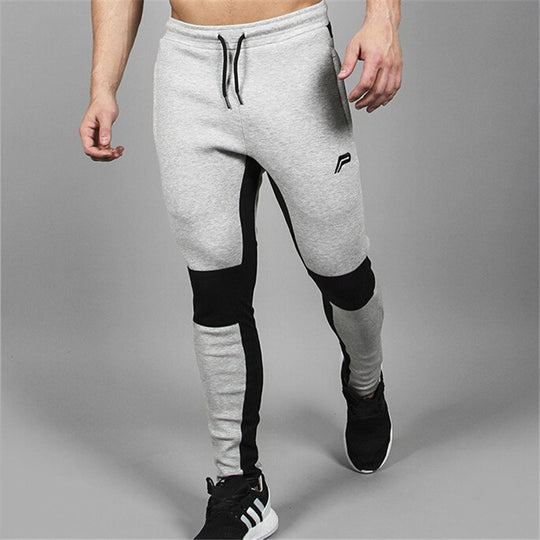 Bodybuilding Splice Cotton Professional Fitness Jogger Sweatpant