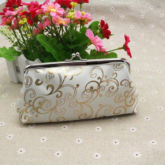 Small Hasp Purse Clutch
