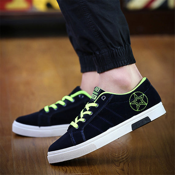 Breathable Anti-Skid Casual Lace-up Shoes