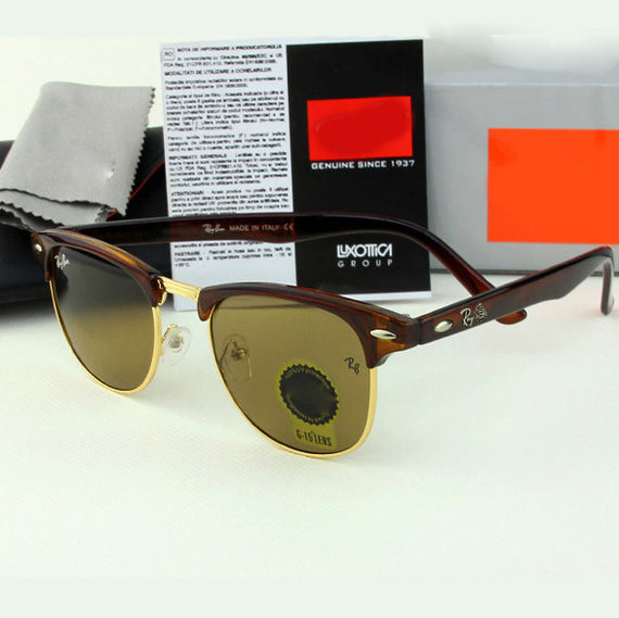 Ray Ben sunglasses with logo and original box brand designer